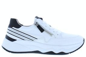 Gabor 43.492.21 weiss schwarz Damesschoenen Sneakers
