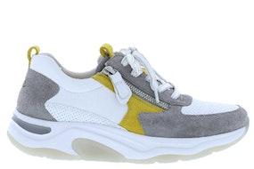 Gabor 46.918.40 weiss grau Damesschoenen Sneakers