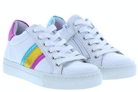 Giga G3426 white fuxia Meisjesschoenen Sneakers
