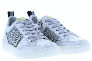 Giga G3433 metalcris plata Meisjesschoenen Sneakers