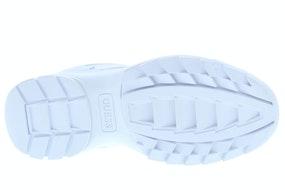 Guess Kaysie5 FL5KAY white Damesschoenen Sneakers