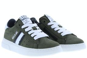HIP H1272 green combi Jongensschoenen Sneakers
