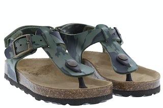 Kipling Gubbi 2 khaki Jongensschoenen Sandalen en slippers