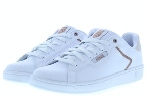 K-Swiss Clean court II white rose gold Damesschoenen Sneakers
