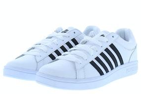 K-Swiss Court winston white black Herenschoenen Sneakers