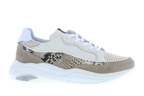 Maruti Femme beige Damesschoenen Sneakers