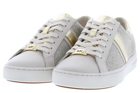 Michael Kors Keaton stripe pale gold Damesschoenen Sneakers