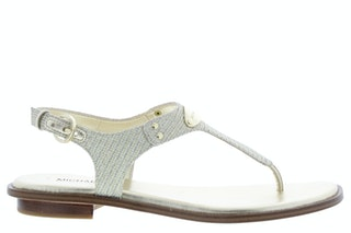 Michael kors mk plate thong pale gold 150910023 01