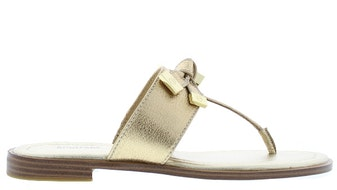 Michael Kors Ripley thong pale gold Damesschoenen Slippers