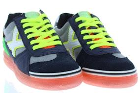 Munich 1511102 navy orange Jongensschoenen Sneakers