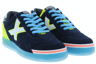 Munich 1511104 navy yellow Jongensschoenen Sneakers