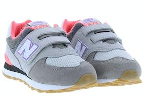 New Balance 574 SOC grey pink Meisjesschoenen Sneakers