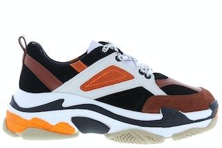 Nikkie chunky sneaker black white 141870041 01