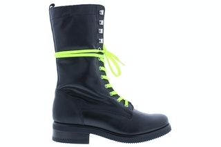 Nikkie fluo lace boot black yellow 170100484 01