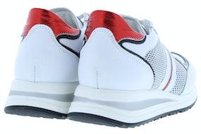 No Claim Adele 1 bianco rosso Damesschoenen Sneakers