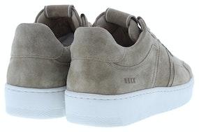 Nubikk Yucca cane taupe suede Damesschoenen Sneakers