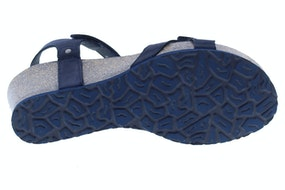 Panama Jack Julia basics B10 navy Damesschoenen Sandalen