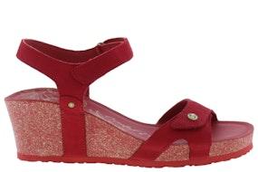 Panama Jack Julia basics B16 red Damesschoenen Sandalen
