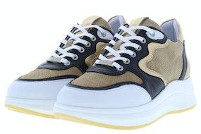 Piedi Nudi 2373 white black Damesschoenen Sneakers