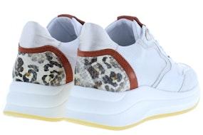 Piedi Nudi 2373 white rust Damesschoenen Sneakers