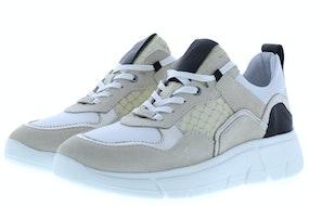 Piedi Nudi 2375 white pearl Damesschoenen Sneakers