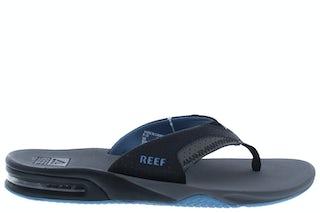 Reef Fanning grey light blue RF002026GLB Herenschoenen Slippers
