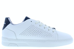 Rehab Tiago perfo white blue Herenschoenen Sneakers