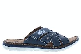 Rieker 25199 14 denim Herenschoenen Slippers