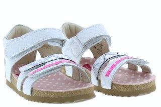 ShoesMe BI20S080-A white croco Meisjesschoenen Sandalen en slippers