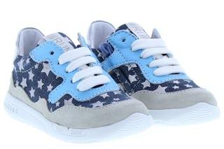 ShoesMe RF20S011-D white blue Meisjesschoenen Veterschoenen
