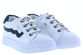 ShoesMe SH20S036-D white blue Jongensschoenen Sneakers