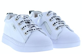 ShoesMe SH20S004-D white silver Meisjesschoenen Sneakers