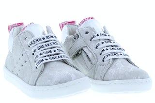 ShoesMe UR20S017-F white Meisjesschoenen Veterschoenen