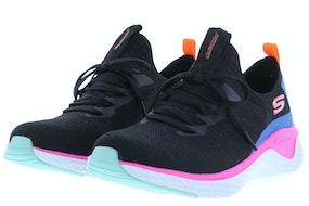 Skechers 13325 BKMT Damesschoenen Sneakers