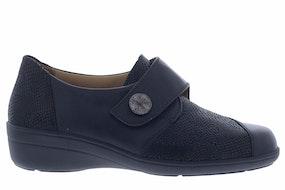 Solidus Hedda 26428 J 00308 schwarz Damesschoenen Klittebandschoenen