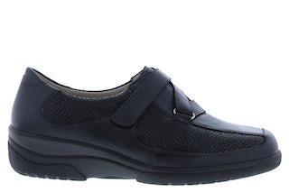 Solidus Hedda 26536 K 00308 schwarz Damesschoenen Klittenbandschoenen