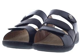 Solidus Wellness spezial 20141 G 00907 schwarz Damesschoenen Slippers