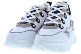 Stokton 631-D bianco pitone sa Damesschoenen Sneakers