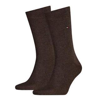Tommy Hilfiger Sock classic 2 pack 778 oak Sokken