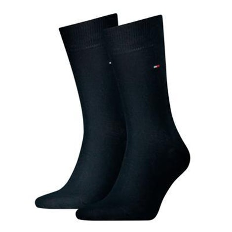 Tommy Hilfiger Sock classic 2 pack 322 dark navy Sokken