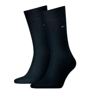 Tommy Hilfiger Sock classic 2 pack 322 dark navy Accessoires