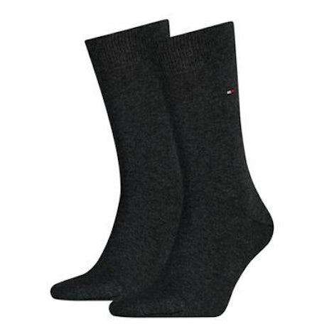 Tommy Hilfiger Sock classic 2 pack 030 anthracite Sokken