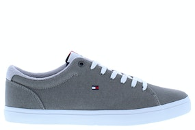 Tommy Hill Essential long lace sneaker prt antique silv Herenschoenen Sneakers