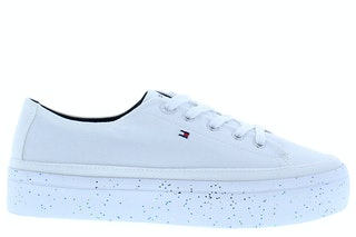 Tommy hilfiger glitter flatform sneaker ybs white 141000426 01