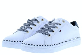 Tommy Hill Nautical lace up sneaker YBS white Damesschoenen Sneakers