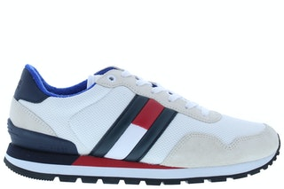 Tommy hill casual tommy jeans sneaker ybs white 242000111 01
