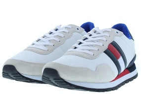 Tommy Hill Casual tommy jeans sneaker YBS white Herenschoenen Sneakers