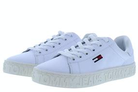 Tommy Hill Cool tommy jeans sneaker 100 white Damesschoenen Sneakers