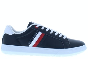 Tommy Hill Essential leather cupsole dw5 desert sky Herenschoenen Sneakers