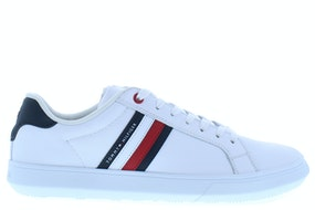 Tommy Hill Essential leather cupsole ybs white Herenschoenen Sneakers